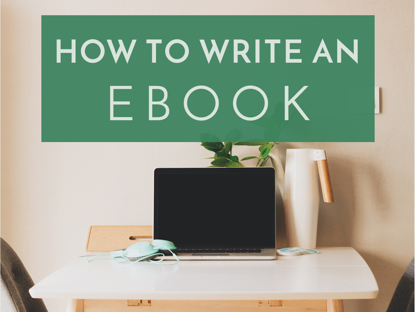 How to write a ebook